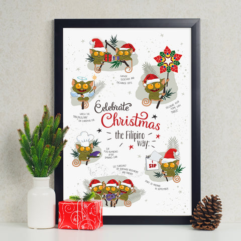 art decoration poster christmas celebration gift philippines maligayang pasko Philippine