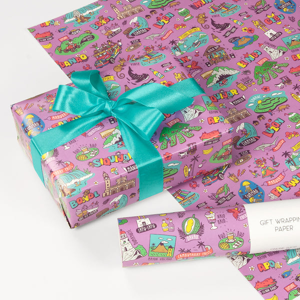 «Travel Philippines» Gift wrapping paper  Philippines gift