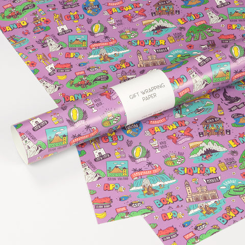 «Travel Philippines» Gift wrapping paper Philippine