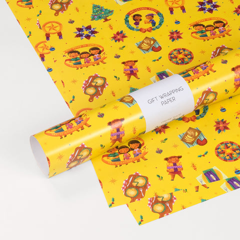 «Maligayang Pasko» Gift wrapping paper Philippine