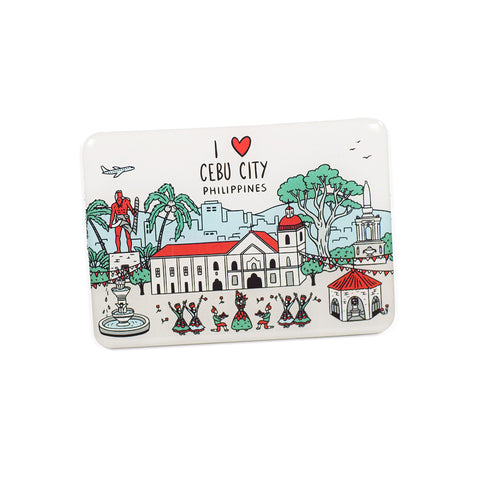 «I Love Cebu City» Fridge Magnet Philippine