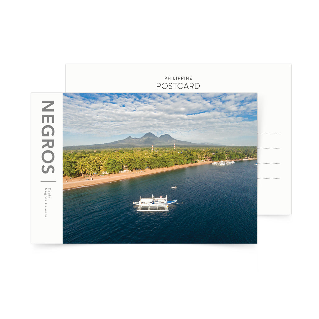 «Negros Island. View to Mount Talinis» Postcard Philippines gift