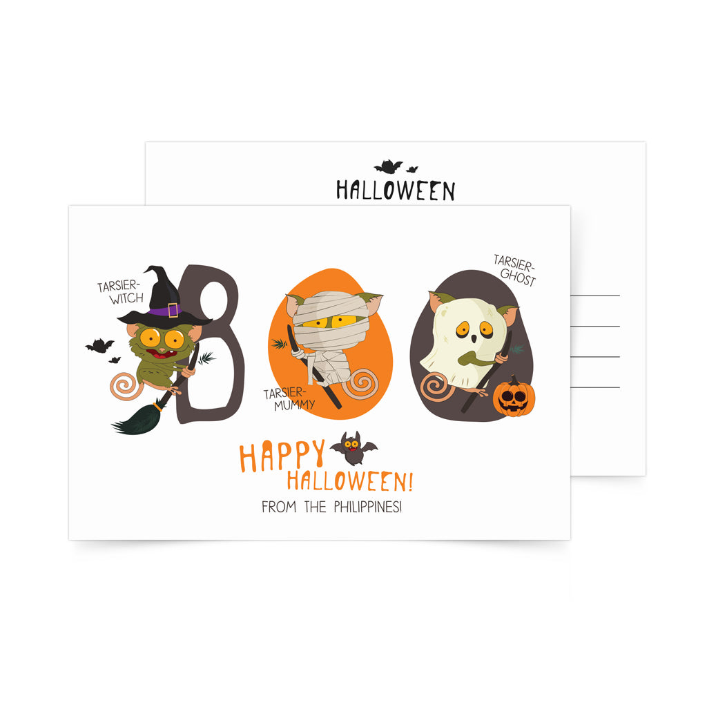 «Happy Halloween» Postcard Philippines gift