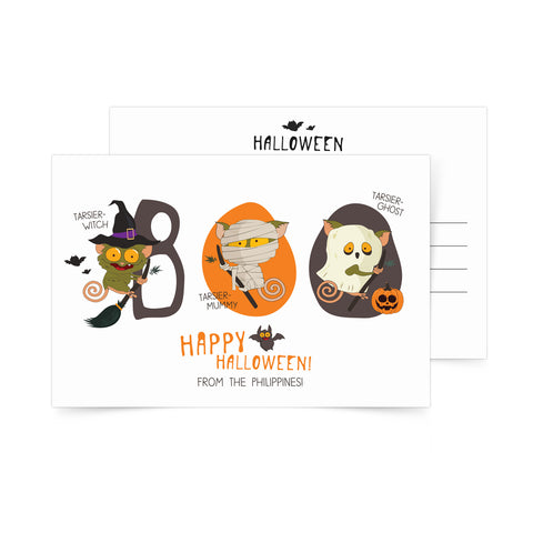 Happy Halloween Postcard Philippine