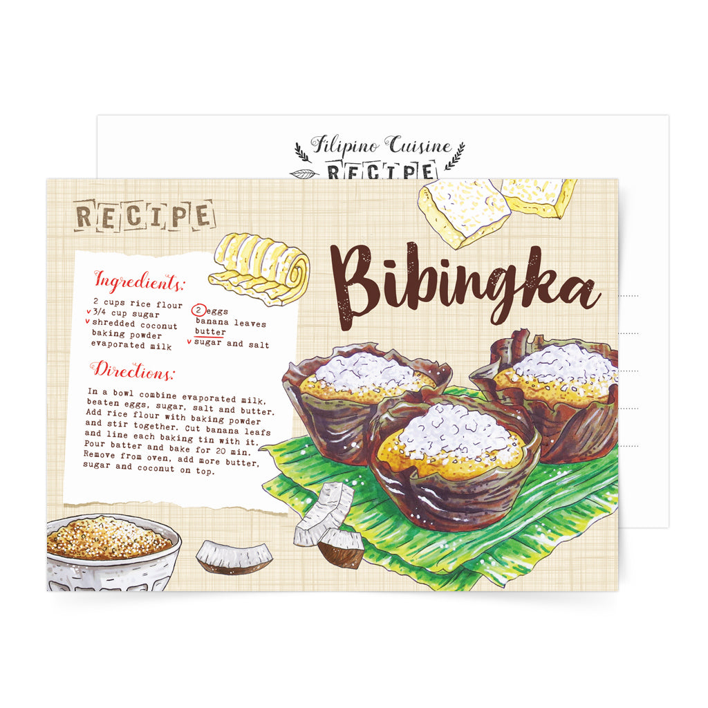 filipino local food card art pinoy sweet pasalubong