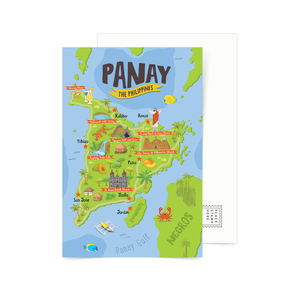 art pinoy collectible postcrossing snailmail artwork boracay travel
