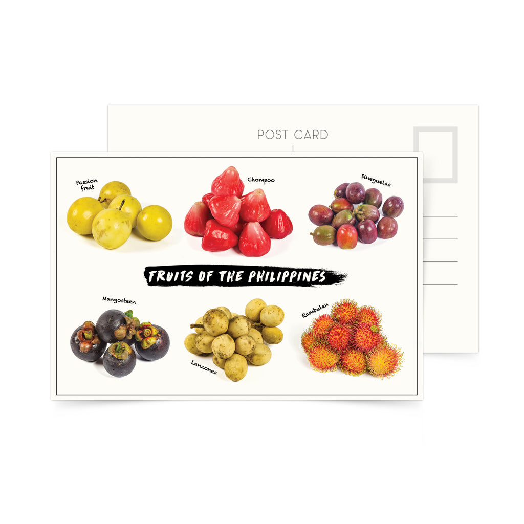 photo postcard philippine fruits
