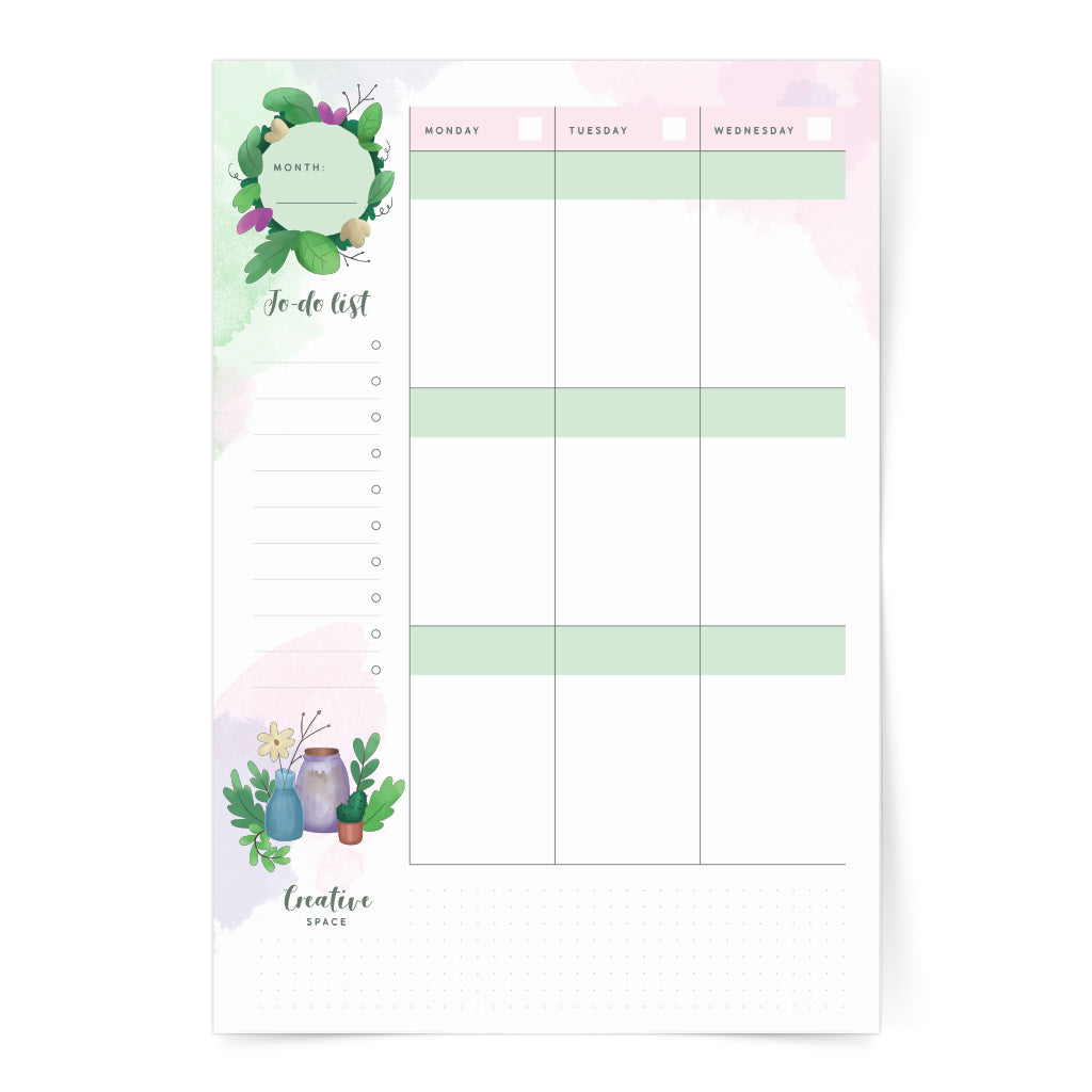 recycle green zero waste digital download printable sticker plan journal eco friendly save the planet nature girl plant