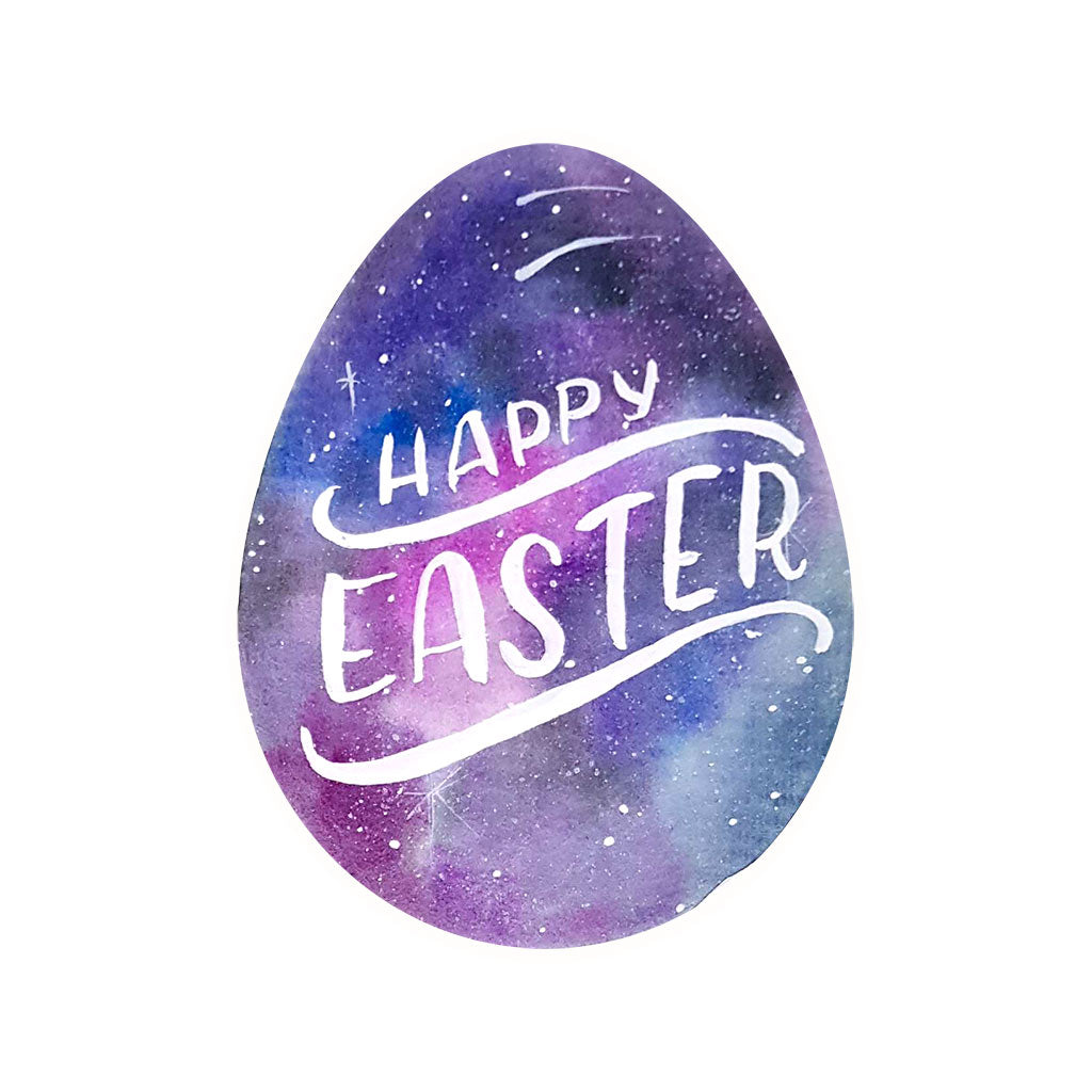 Happy Easter egg painting drawing art session activity DIY shape card Philippines Dumaguete gift snailmail mail