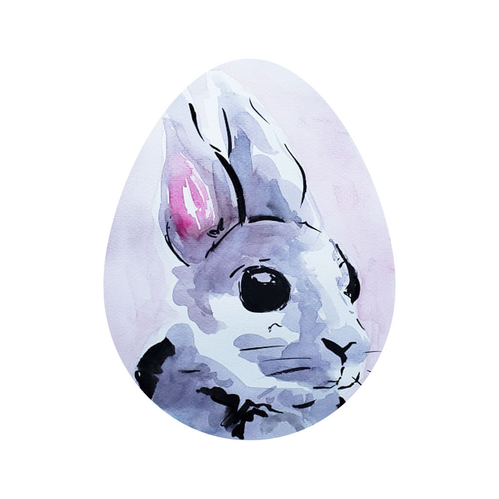 Happy Easter egg painting drawing art session activity DIY shape card Philippines Dumaguete gift snailmail mail bunny