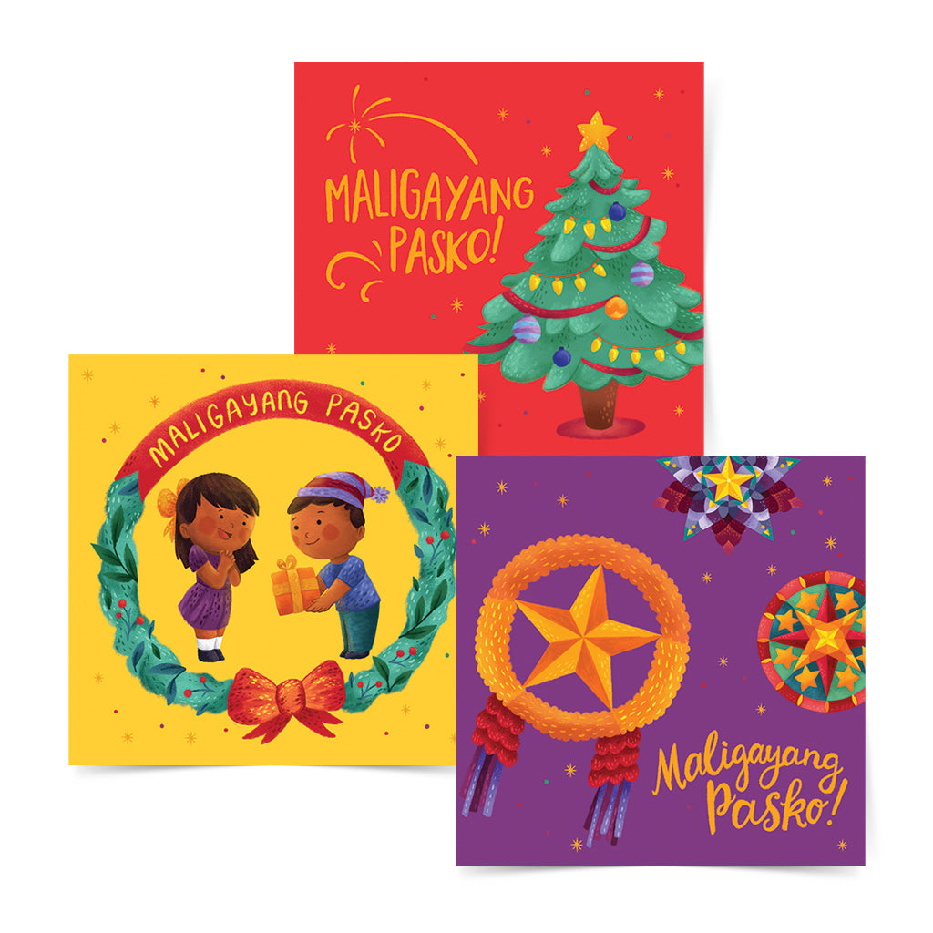 christmas new year tree card parol star art gift idea pinoy local