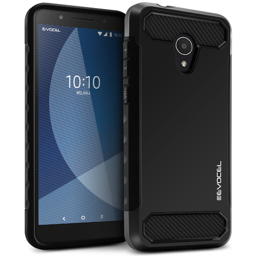 Evocel Alcatel 1X Evolve Dual Lite Series Black Case
