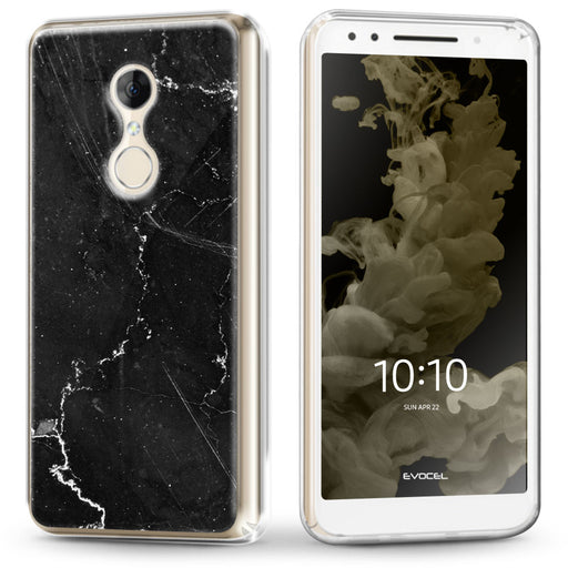 Evocel Alcatel T-Mobile REVVL 2 / Alcatel 3 (2018) Iconic Series Black Marble Case