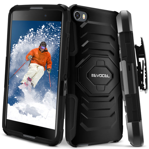 Evocel Alcatel Idol 5 New Generation Series Black Case