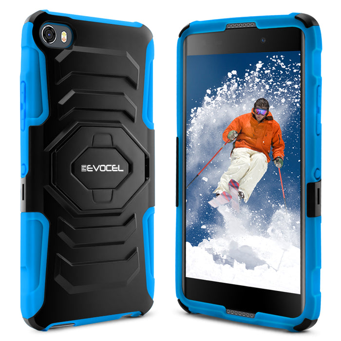 Evocel Alcatel Idol 5 New Generation Series Blue Case