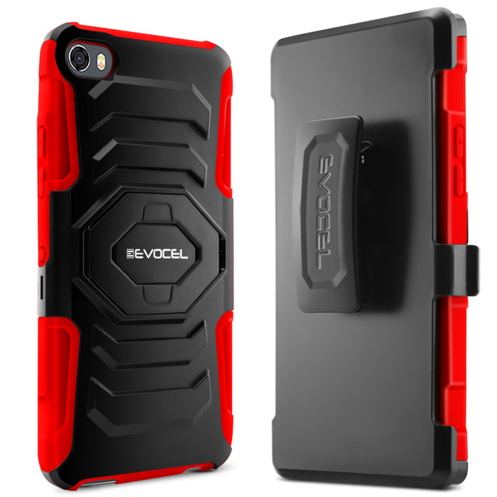 Evocel Alcatel Idol 5 New Generation Series Red Case
