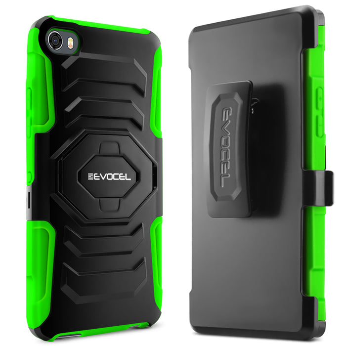 Evocel Alcatel Idol 5 New Generation Series Green Case