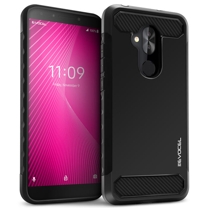 Evocel T-Mobile REVVL 2 Plus Dual Lite Series Black Case