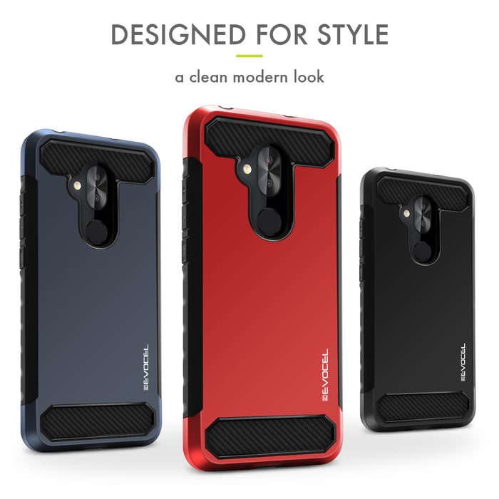 Evocel T-Mobile REVVL 2 Plus Dual Lite Series Red Case