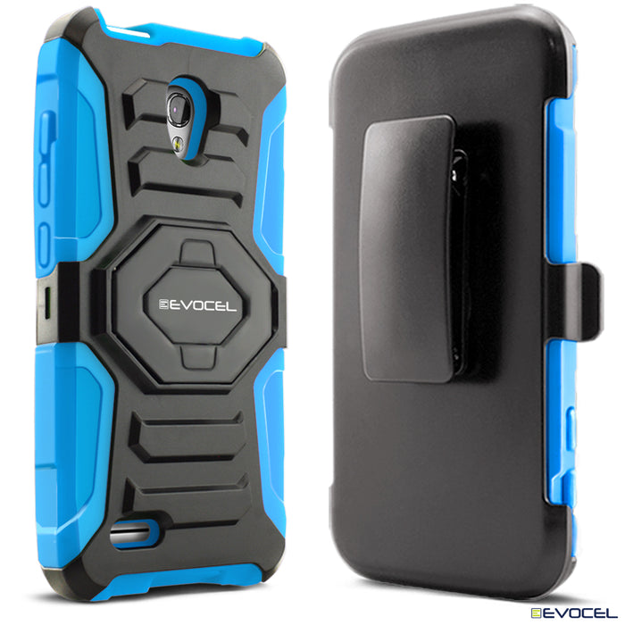 Evocel Alcatel Conquest New Generation Series Blue Case