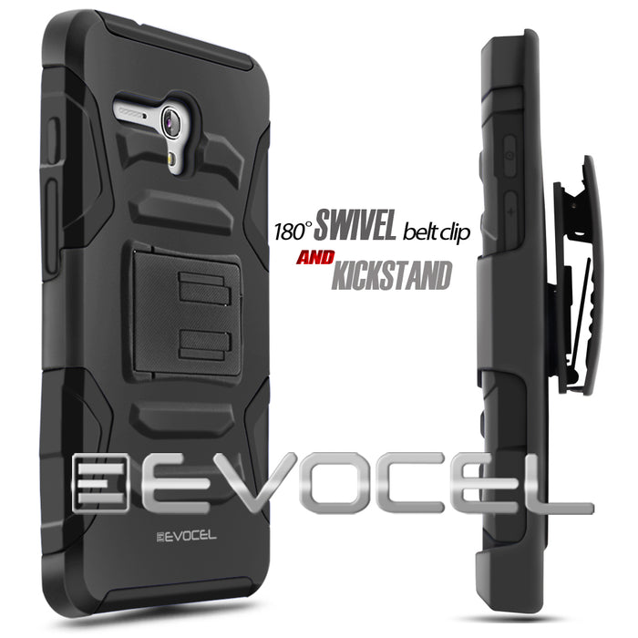 Evocel Alcatel Fierce XL Generation Series Black Case