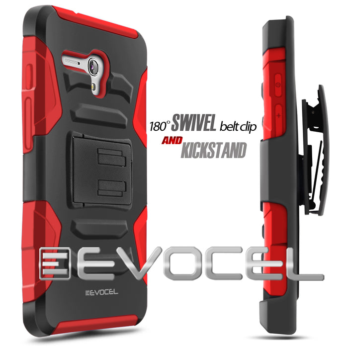 Evocel Alcatel Fierce XL Generation Series Red Case