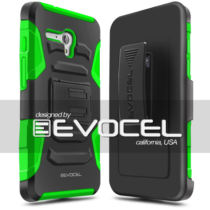Evocel Alcatel Fierce XL Generation Series Green Case