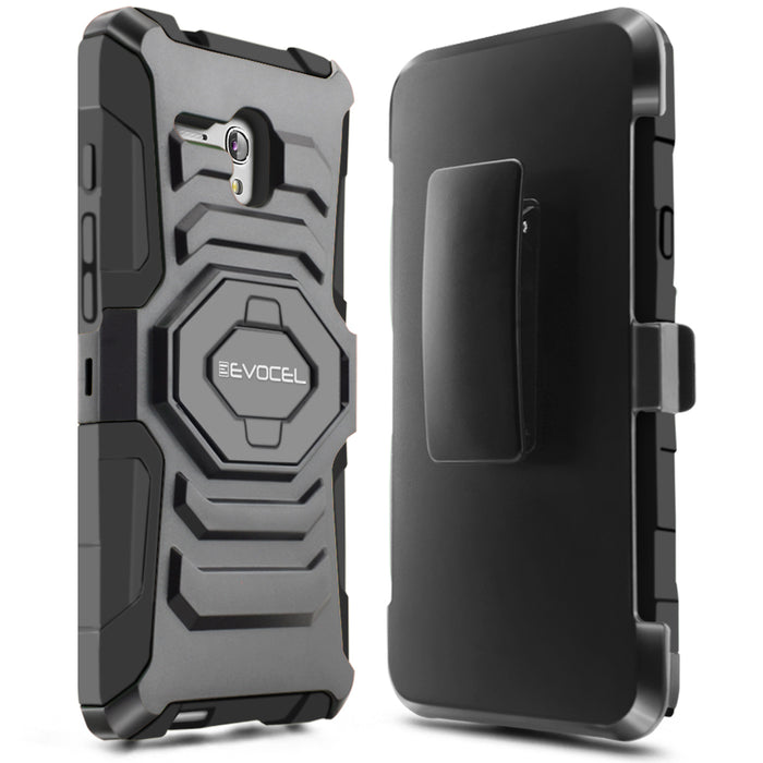 Evocel Alcatel Fierce XL New Generation Series Black Case