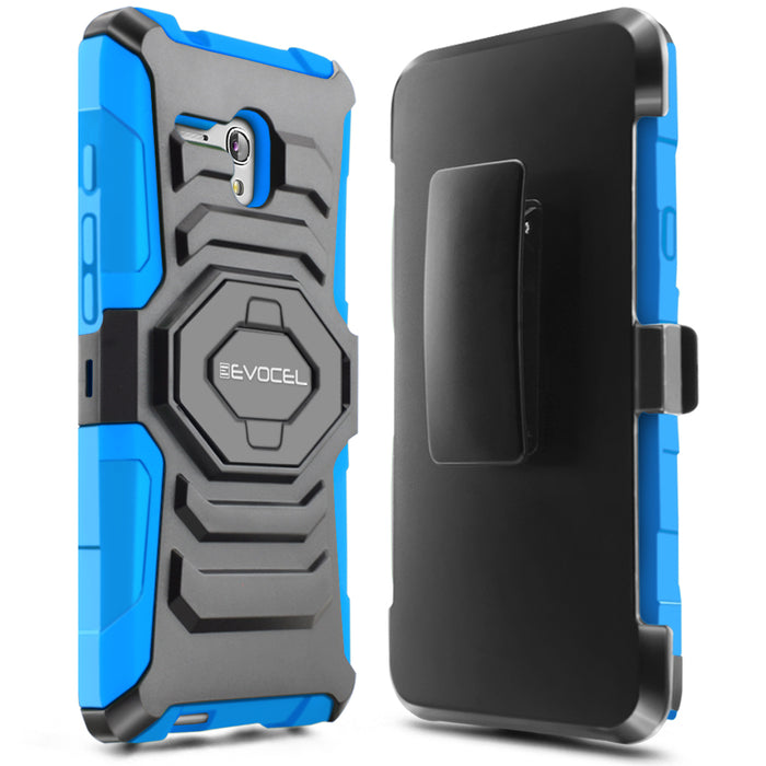 Evocel Alcatel Fierce XL New Generation Series Blue Case
