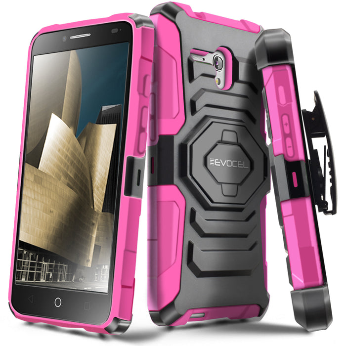 Evocel Alcatel Fierce XL New Generation Series Pink Case