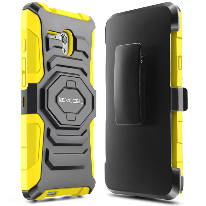 Evocel Alcatel Fierce XL New Generation Series Yellow Case