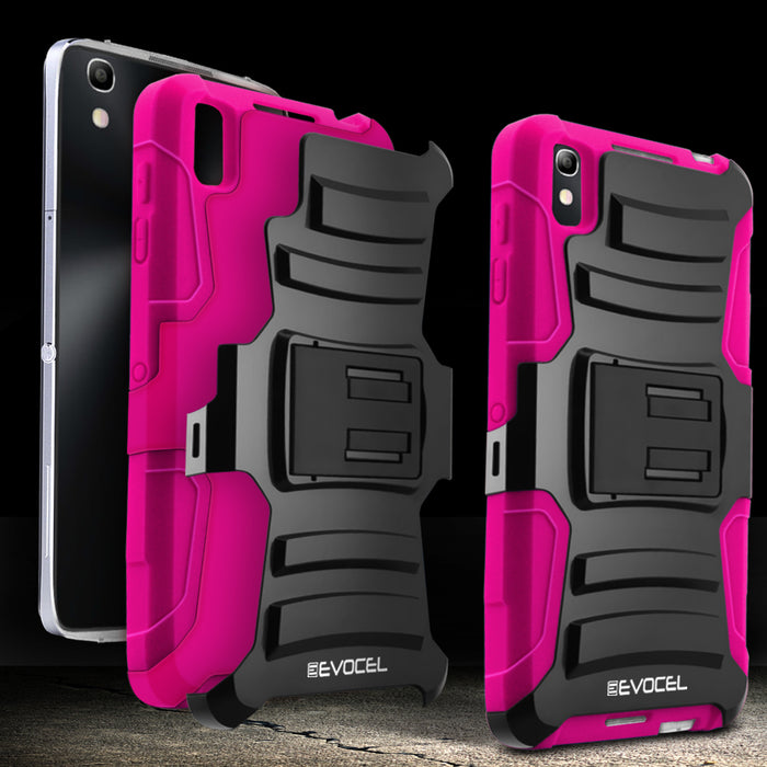 Evocel Alcatel Idol 4 Generation Series Pink Case