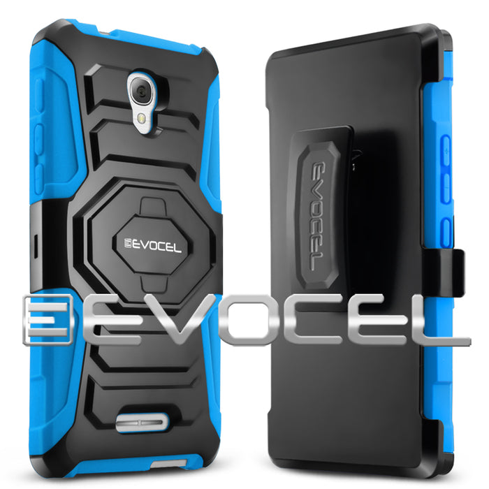 Evocel Alcatel Fierce 4 New Generation Series Blue Case