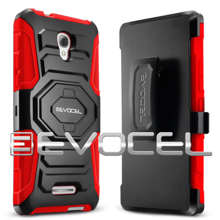 Evocel Alcatel Fierce 4 New Generation Series Red Case