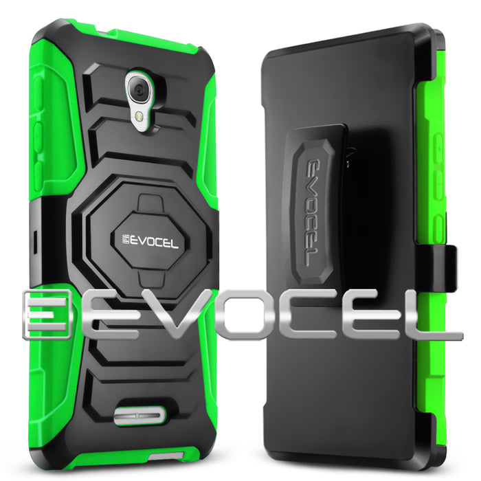 Evocel Alcatel Fierce 4 New Generation Series Green Case