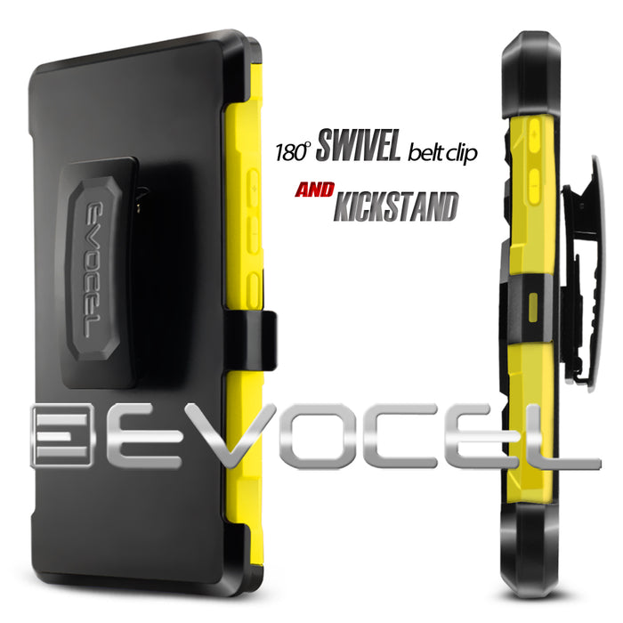 Evocel Alcatel Fierce 4 New Generation Series Yellow Case