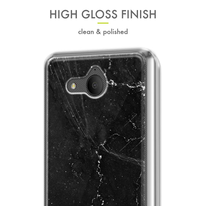 Evocel Alcatel TETRA Iconic Series Black Marble Case