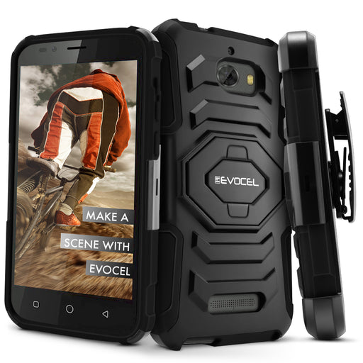 Evocel Coolpad Defiant New Generation Series Black Case