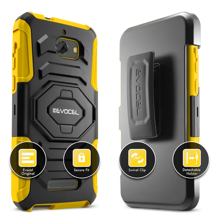 Evocel Coolpad Defiant New Generation Series Yellow Case