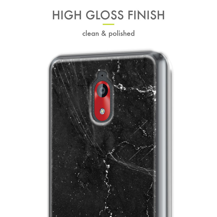 Evocel Coolpad Illumina (3310) Iconic Series Black Marble Case