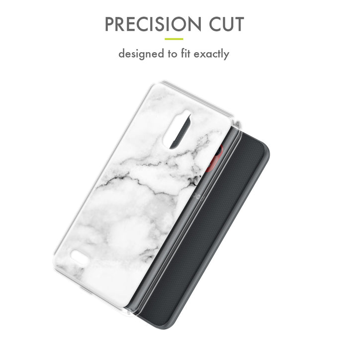Evocel Coolpad Illumina (3310) Iconic Series White Marble Case