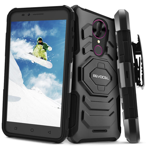 Evocel T-Mobile REVVL Plus New Generation Series Black Case
