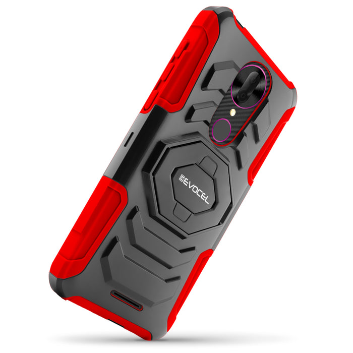 Evocel T-Mobile REVVL Plus New Generation Series Red Case