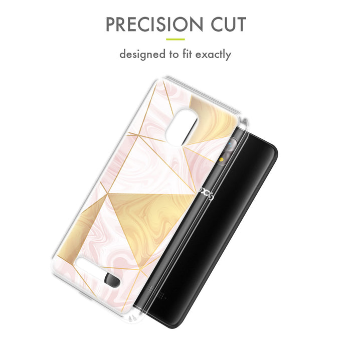 Evocel Foxxd Miro Iconic Series Geometric Rose Gold Case