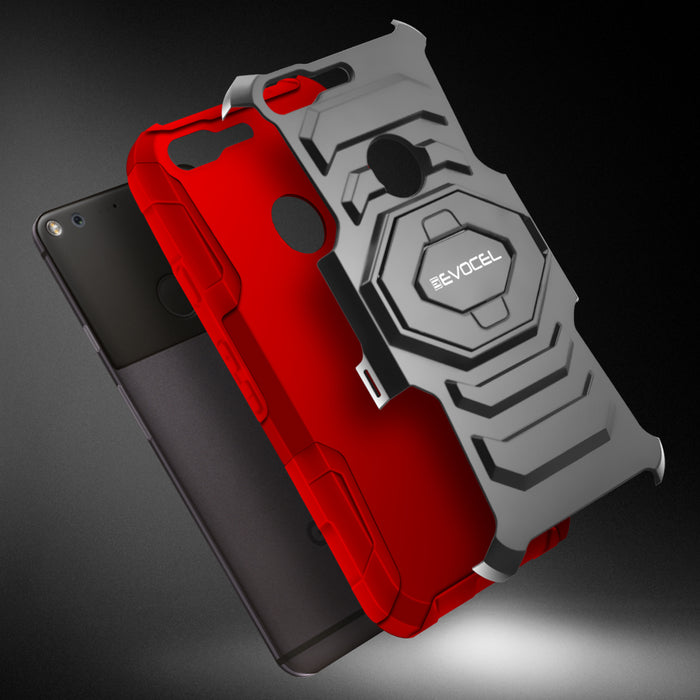Evocel Google Pixel New Generation Series Red Case