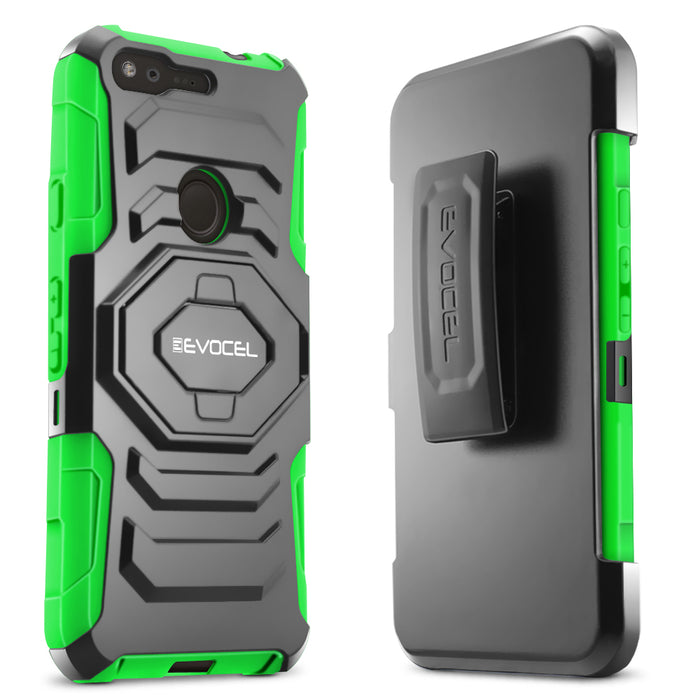 Evocel Google Pixel New Generation Series Green Case