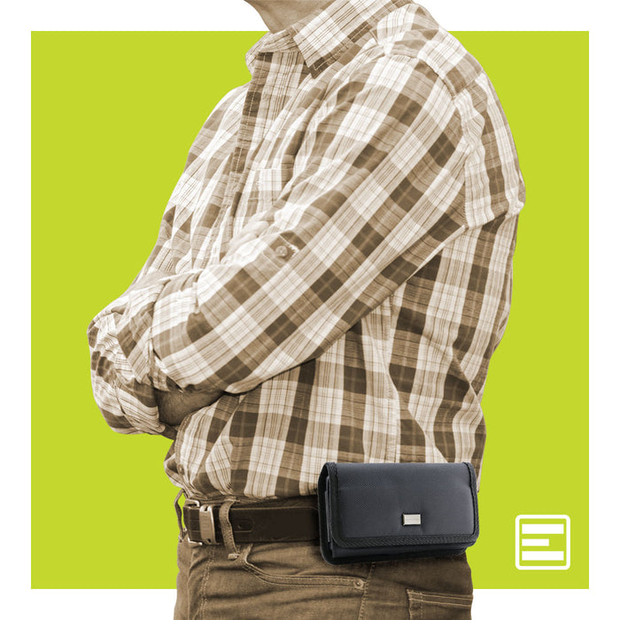 Evocel Urban Pouch Pro Belt Loop Case with Metal Clip