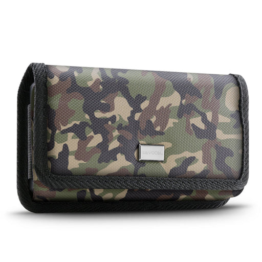 Evocel Urban Pouch Pro Military Camouflage Belt Loop Case with Metal Clip - Medium
