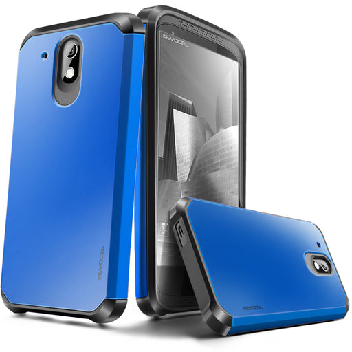 Evocel HTC Desire 526 Armure Series Blue Case