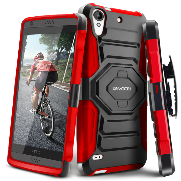 Evocel HTC Desire 530 New Generation Series Red Case